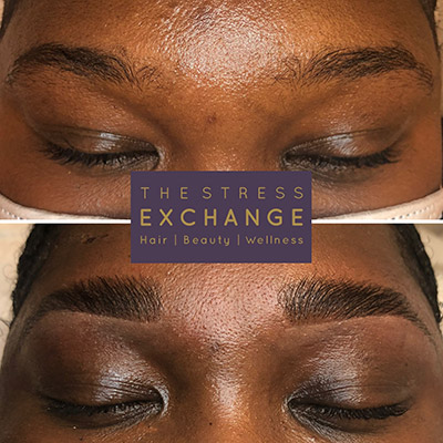 HiBrow Lamination Before & After Treatment